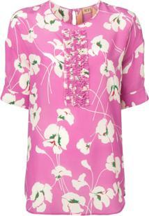 Nº21 Blusa Floral - Rosa