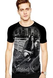 Camiseta Stompy Raglan Modelo 56 Masculina - Masculino
