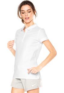 Camisa Polo Nike Baseline Branca