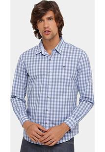 Camisa Xadrez Ellus Classic Fit Quadriculada Masculina - Masculino