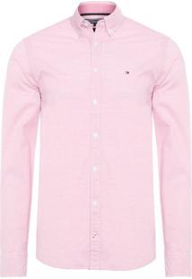 Camisa Masculina Hor Devan - Rosa
