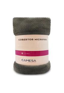 Manta Cobertor Casal 180X220Cm Microfibra Soft Macia Fleece Camesa - Emcompre