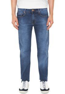 Calça Jeans Colcci Slim Alex Azul