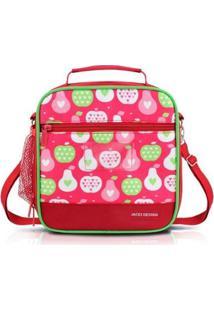 Bolsa Térmica Infantil Jacki Design Feminina - Feminino-Pink