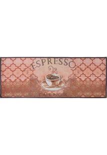 Passadeira De Cozinha Jacquard 45Cm X 1,15M Espresso