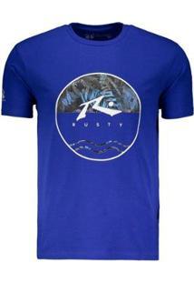 Camiseta Rusty Amphibious Botanic Masculina - Masculino