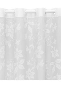 Cortina Santista 180X280 Londres Lais Branco