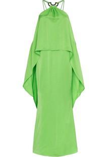 Cult Gaia Vestido Longo - Verde
