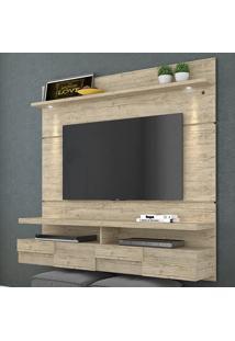 Painel Para Tv 2 Portas Lana 160 Cm 275022 Rustico - Madetec