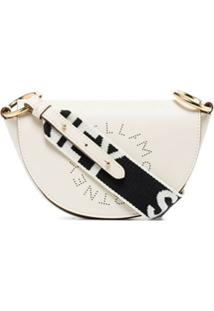 Stella Mccartney Bolsa Stella Mini Com Logo - Branco