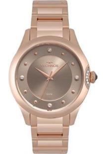 Relógio Technos Crystal Rosé 2035Mqa/5C Feminino - Feminino-Rose Gold