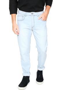 Calça Jeans Osklen Slim Knit Azul