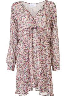 Dondup Vestido Reto Mini Com Estampa Floral - Rosa