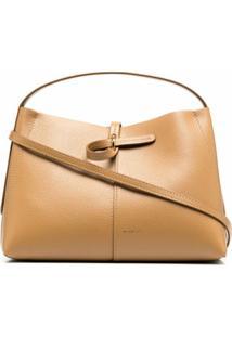 Wandler Leather Crossbody Bag - Neutro