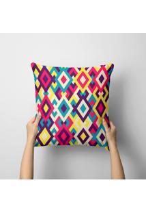 Capa De Almofada Avulsa Decorativa Illusion Color 45X45Cm