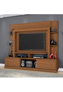 Estante Para Home Theater E Tv Até 55 Polegadas Miami Nature