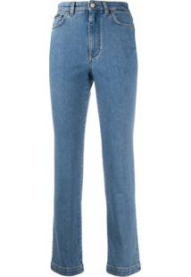 Dolce & Gabbana Calça Jeans Reta - Azul
