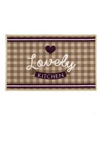 Tapete De Cozinha Gourmet Love 50X160Cm Clean Kasa Kapazi