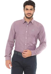Camisa Sergio K Reta Point Vivo Roxa