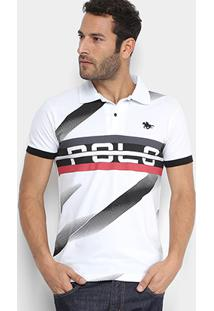 754661f83a ... Camisa Polo Rg 518 Piquet Estampada Masculina - Masculino