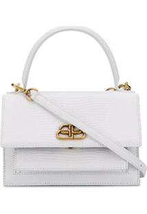 Balenciaga Bolsa Tote Sharp Xs - Branco