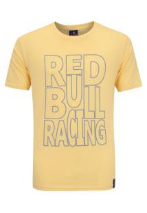 Camiseta Red Bull Racing Color - Masculina - Amarelo