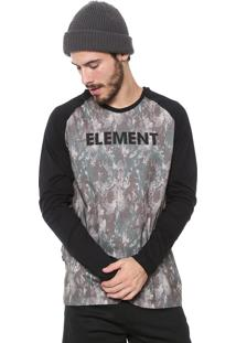 Camiseta Element Duo Block Verde
