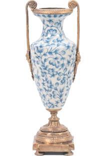 Vaso Decorativo De Porcelana Cambuí Ii