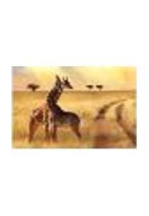 Painel Adesivo De Parede - Girafas - Animais - 1794Png