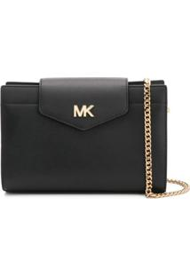 Michael Michael Kors Logo Cross Body Bag Large - Preto