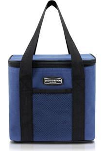Bolsa Tã©Rmica Lisa Com Alã§A Jacki Design Ahl16019 Azul - Azul - Masculino - Dafiti