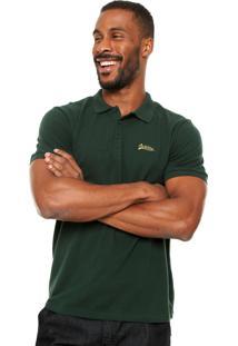 Camisa Polo Cavalera Assinatura Verde