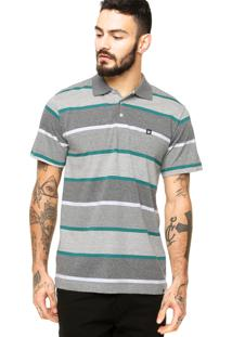 Camisa Polo Dc Shoes Matter Cinza