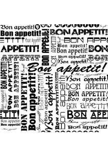 Papel De Parede Adesivo Bon Appetit