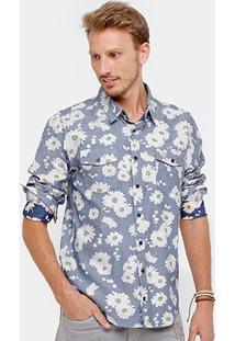 Camisa Cavalera Flowers Masculina - Masculino
