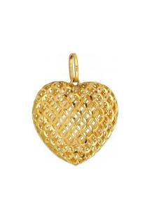 09c9d4446497f lejade joias. Pingente Tipo Dourado Pingente Coração De Ouro