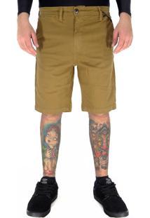 Bermuda Jeans Mcd Walk Cotton Chino Mascavo 40
