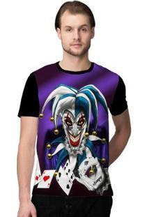 Camiseta Stompy Joker Masculina - Masculino-Preto