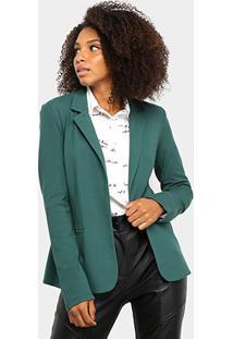 Blazer Il Shin Clássico Feminino - Feminino-Verde