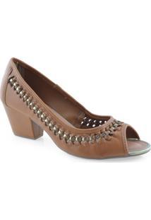 Sapato Peep Toe Dakota B8492