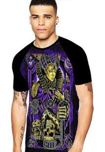 Camiseta Stompy Raglan Modelo 76 Masculina - Masculino