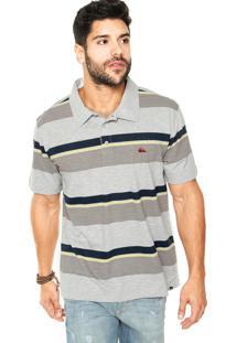 Camisa Polo Quiksilver Chipping Away Listrada