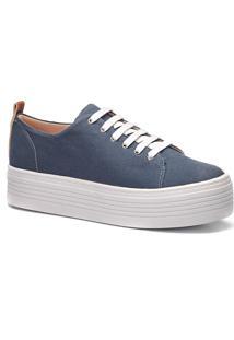 Tênis Feminino Milano Lona Blue Jeans 10577