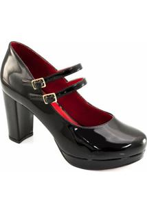 d78be47e31 Sapato Da Moda Verniz feminino