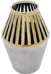 Vaso Decorativo De Cerâmica Linette M
