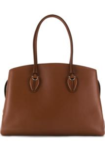 Tod'S Top Handle Tote Bag - Marrom