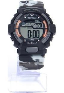 Relógio Masculino Preto Triton Eyewear Rtx136 - Kanui