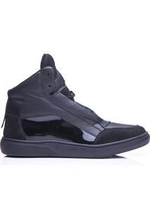Tênis Sneaker Feminino Rockfit Iron Maiden All Black