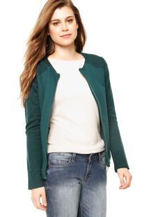 Jaqueta Enfim Basic Verde