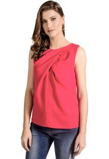 Blusa Alphorria Regata Transpassada Pink